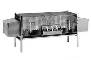 Промышленная клетка для кроликов